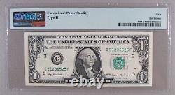 1999 Fr. 1924-C $1 FRN Inverted Back Error PMG Extremely Fine 40 EPQ