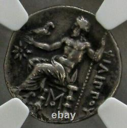 323 317 Bc Silver Macedon Drachm Philip III Coin Ngc Extremely Fine 5/2