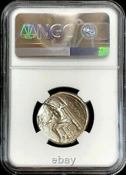 336- 323 Bc Silver Macedon Tetradrachm Alexander The Great Ngc Extremely Fine