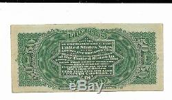 50 Cents 4th Issue Fractional Currency Fr. 1374 Green Rev Extremely Fine Lincoln