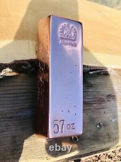 55+ COPPER BULLION BARS! EXTREMELY FINE FINISH AND QULITY Trapezoid Ingots