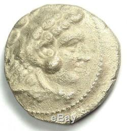 Alexander the Great III AR Tetradrachm Coin 336-323 BC XF (Extremely Fine)