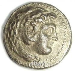 Alexander the Great III AR Tetradrachm Coin 336-323 BC XF (Extremely Fine)