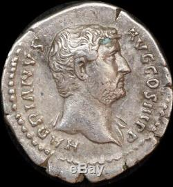 Ancient Rome (Imperial) 134 AD Hadrian Denarius Victory BMC 760A Extremely Fine