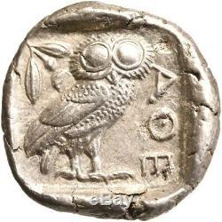 Athens. AR tetradrachm. 449-413 B. C. Extremely Fine. 8641
