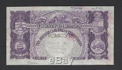 British Caribbean Territories 20 Dollars 28-12-1950 P5s Specimen Extremely Fine