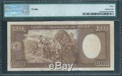CHILE 1000 Pesos P107 (1945-47) PMG 40 Extremely Fine