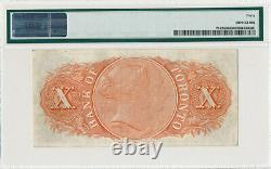 Canada Bank Of Toronto 10 Dollars 1935 7152408 016101 Pmg 40 Extremely Fine