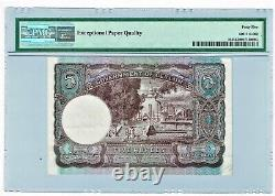 Ceylon 5 Rupees 19.9.1942 Pick 36 PMG Choice Extremely Fine 45 EPQ