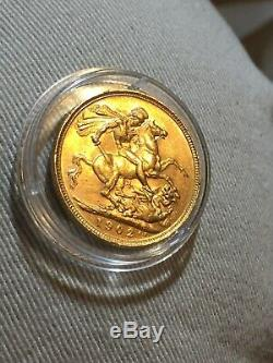 Edward VII 1902 Gold Full And Half-Sovereign Set, Boxed. Extremely Fine Condition