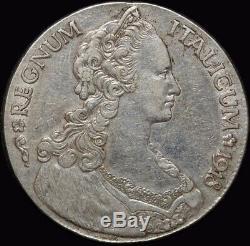 Eritrea 1918 Silver Tallero KM# 5 Extremely Fine