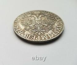 Extremely Fine, Very Rare 1664 German States Besancon Karl V Thaler 43.5mm KM#48
