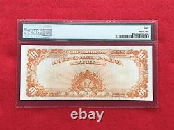 FR-1173 1922 Series $10 Ten Dollar Gold Certificate PMG 40 Extremely Fine