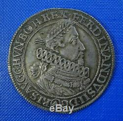 Ferdinand ii, 1618-37, Silver Thaler, 1620, Vienna Mint. Extremely Fine. Toned