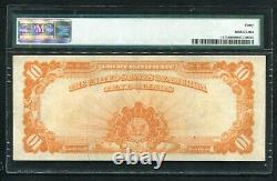 Fr. 1173 1922 $10 Ten Dollars Gold Certificate Pmg Extremely Fine-40