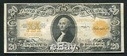 Fr. 1187 1922 $20 Twenty Dollars Gold Certificate Currency Note Extremely Fine