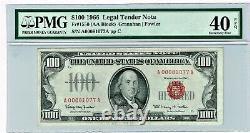 Fr. 1550 $100 1966 Legal Tender Note. PMG Extremely Fine 40 EPQ