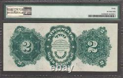Fr. #245 1891 $2 Silver Certificate Pmg Extremely Fine 40