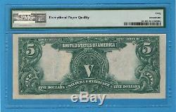 Fr. 281. 1899 $5 Silver Certificate. PMG Extremely Fine 40 EPQ