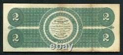 Fr. 41 1862 $2 Two Dollars Legal Tender United States Note Extremely Fine
