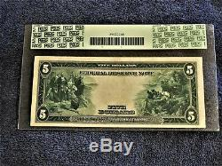 Fr. 850 1914 FRN $5 NEW YORK BURKE/HOUUSTIN AUTO'S PCGS EXTREMELY FINE 40