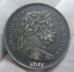 GB 1817 George III Silver Half Crown Coin Near Extremely Fine SUPERB