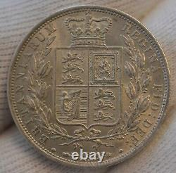 GB 1885 Queen Victoria Silver Half Crown Coin Extremely Fine SUPERB