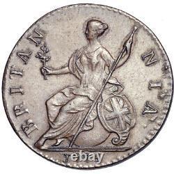 George III. Halfpenny. 1774. Good Extremely Fine. 8937
