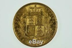 Great Britain 1851 Gold Full Sovereign in Almost Extremely Fine Condition