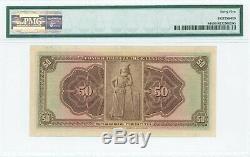 Greece, 50 Drachmai 1926, Overprint NEON 1926, 45 Extremely fine, Pitidis#80a