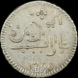 Java (Dutch East India Company) 1766 Silver Rupee KM#175.1 Extremely Fine