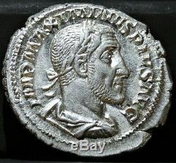 Maximinus I Thrax Denarius, Extremely Fine +