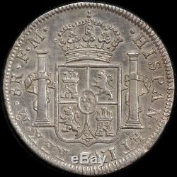 Mexico 1796 Silver 8 Reales KM# 109 Extremely Fine