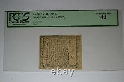 Pennsylvania April 10, 1777 4d PCGS Extremely Fine 40