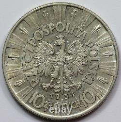 Poland 1934 10 Zlotych, good Extremely Fine/about Uncirculated & Scarce