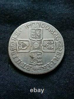Queen Anne Shilling 1709, In Extremely Fine + Condition. 2-22