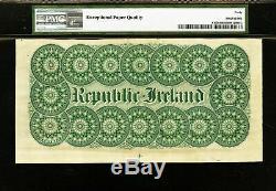 Republic of Ireland 10 Dollars 1866-1919 Pick-S102r Extremely Fine PMG 40 EPQ