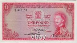 Rhodesia 14.9.1964 1 Pound Bruce Pick#P 25d Extremely Fine G/4 610155