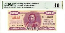 Series 692 $20'CHIEF' PMG 40 Extremely Fine condition- LOOKS STUNNING