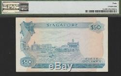 Singapore 50 Dollars Banknote(1973) Extremely Fine Grade-40-PMG, Cat#5-A