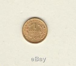USA 1853 Gold One Dollar In Extremely Fine Condition