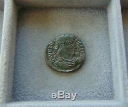 Very Rare Extremely Fine Roman Empire VETRANIO Follis Siscia! 22mm/4,2gr