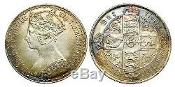 Victoria. Gothic Florin. 1884. Good Extremely Fine. 9331