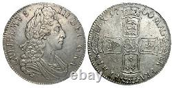 William III. Crown. 1700. Extremely Fine. 9107